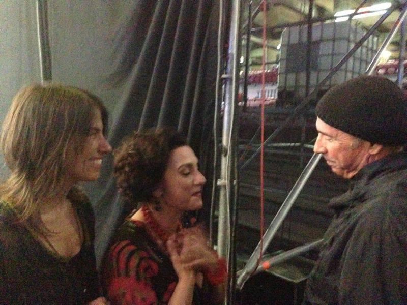 3 Agost: Col·laboració al concert de Franca Masu