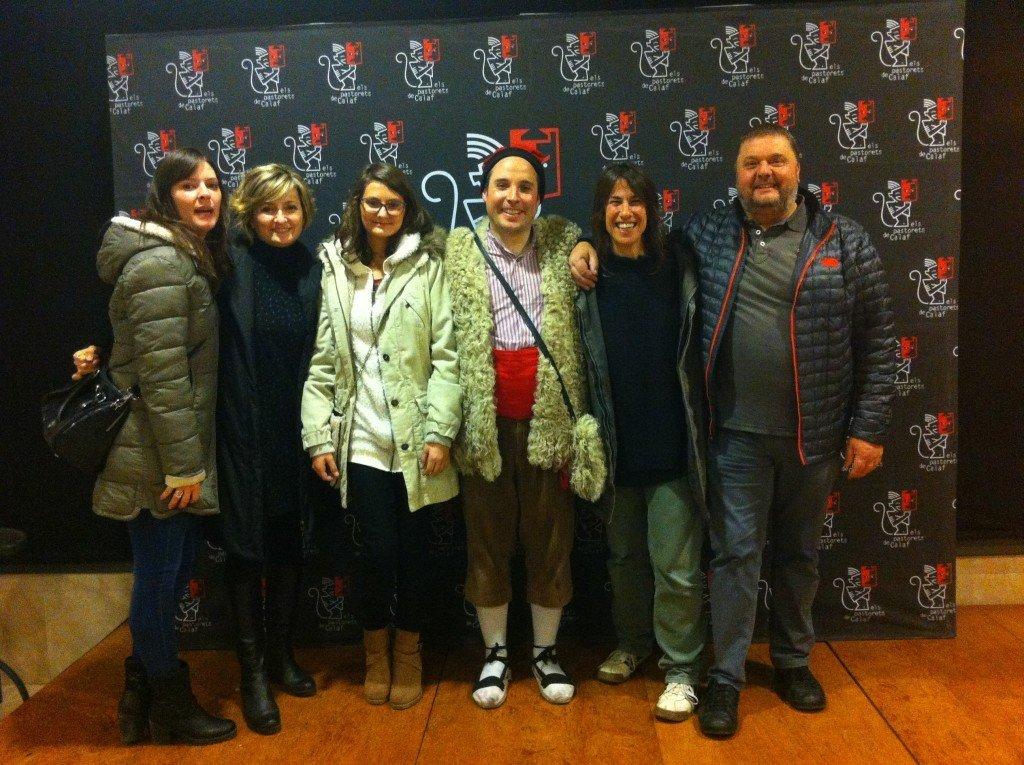 Gemma Garriga, Maribel Sivila, Laia Garriga, Jordi Servitje, Jordi Rotés, i Josep Garriga