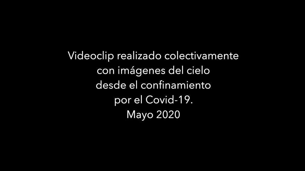 Videoclip «Nada de nada» – Homenatge a Cecilia sota un cel gravat per 130 persones confinades